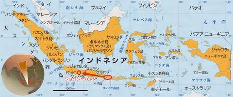 インドネシア地図-2