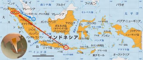 インドネシア地図-1